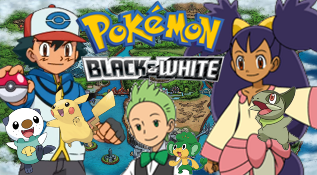 File:Pokemon Black and White Poster.png