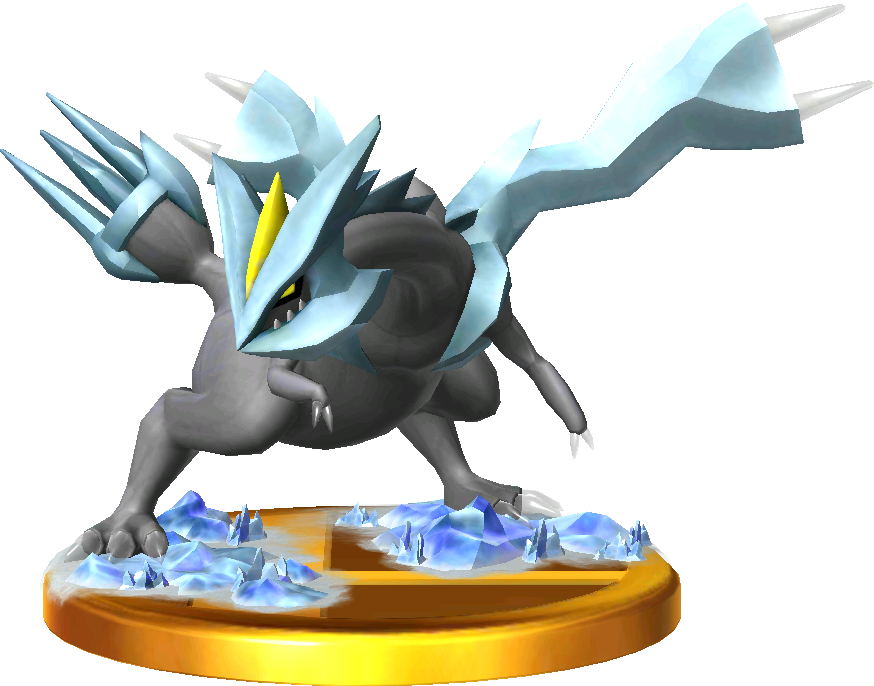 Kyurem trophy SSB3DS