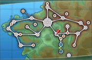 Kalos Santalune City Map