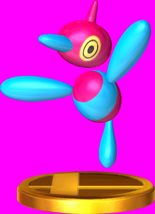 Porygon-Z trophy SSB3DS