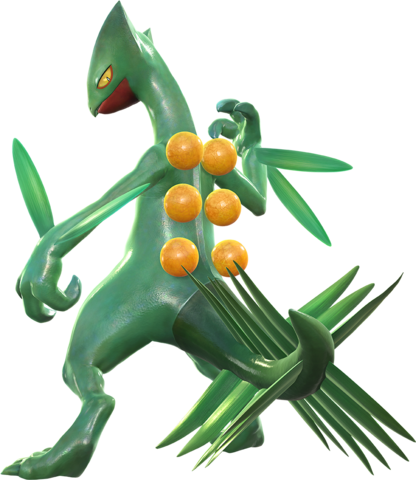 File:Sceptile (Pokkén Tournament).png