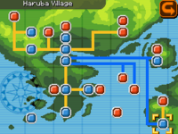 Haruba Village Map Almia