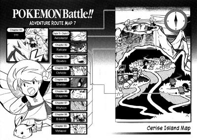 Adventures volume 7 map