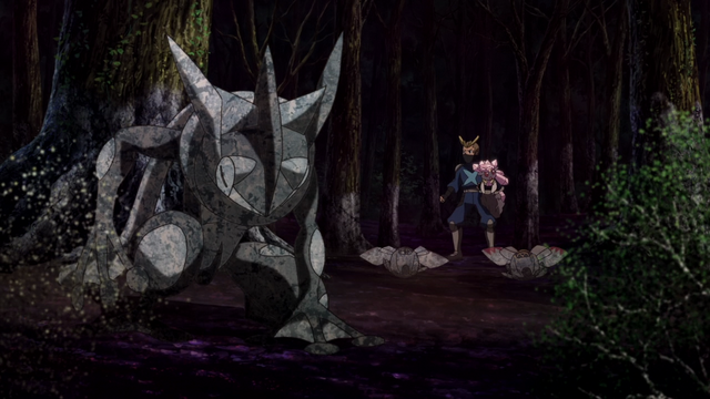File:Greninja and Ninjask turning into stone.png