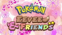 Eevee and Friends title