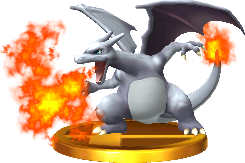 Charizard (Alt.) trophy SSB3DS