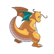 149Dragonite Pokemon Conquest