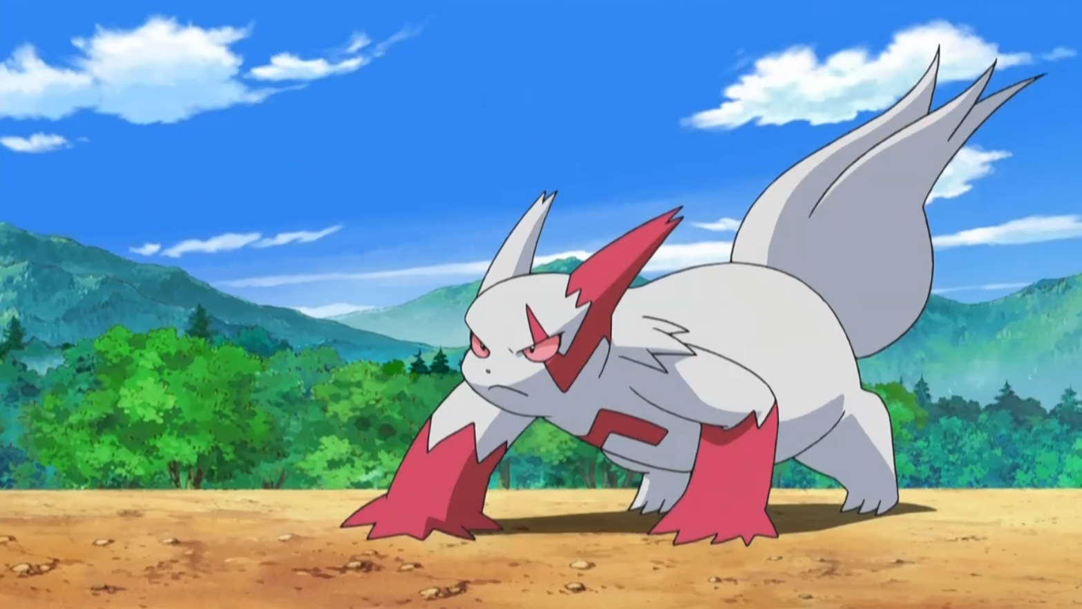 Crimson S Zangoose Pok 233 Mon Wiki Fandom Powered By Wikia