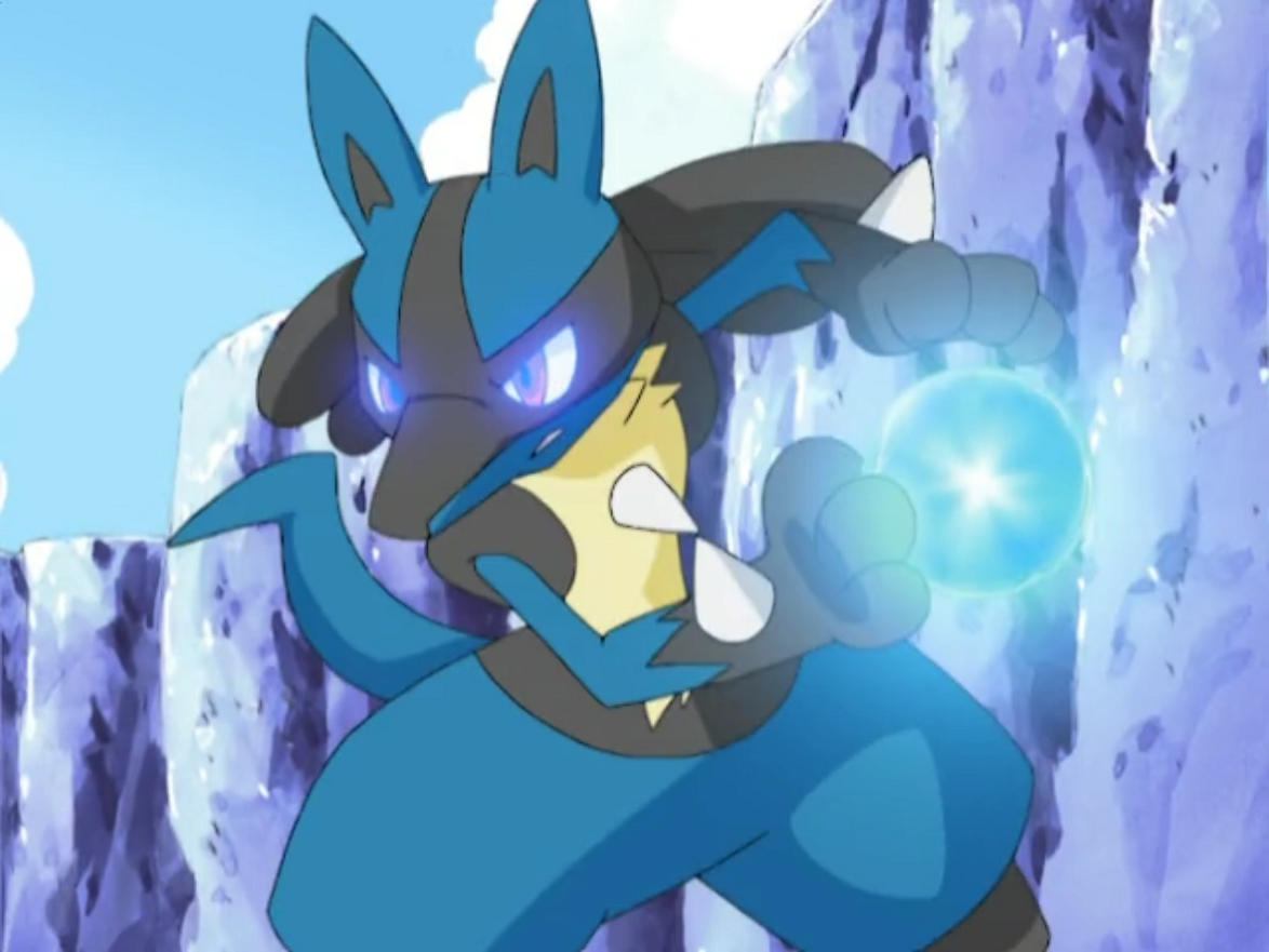 Shadow the lucario | Pokemon Amino