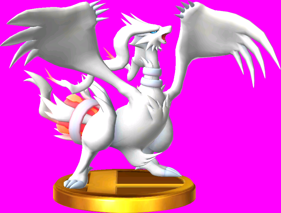 File:Reshiram trophy SSB3DS.png