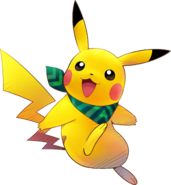 025Pikachu Pokémon Super Mystery Dungeon