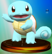 Squirtle trophy SSBM