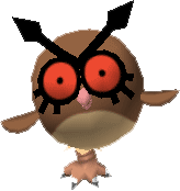 163Hoothoot Pokemon Stadium