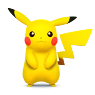 Pikachu (Super Smash Bros. for 3DS - WiiU Artwork)