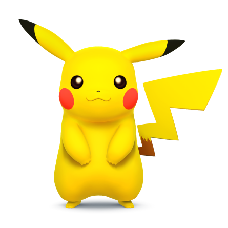 File:Pikachu (Super Smash Bros. for 3DS - WiiU Artwork).png