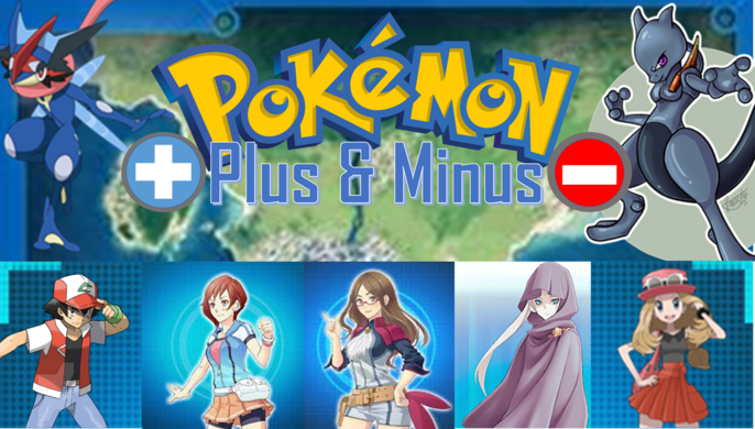 Pokemon Plus and Minus Poster