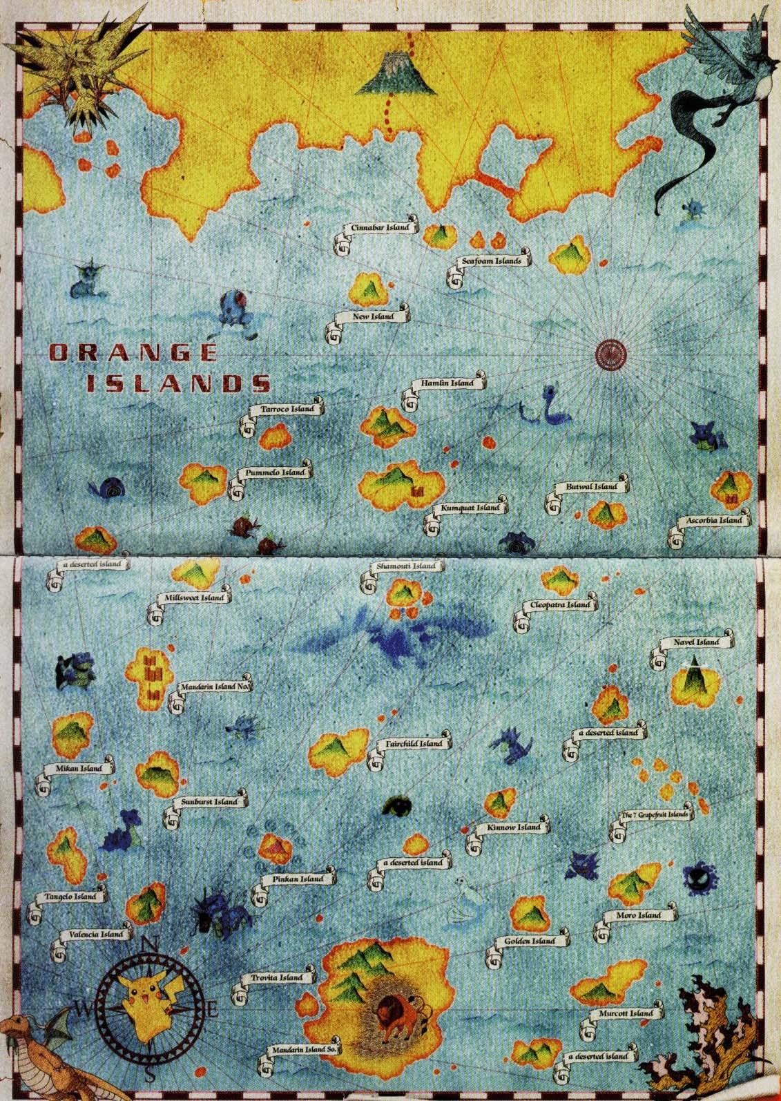 Orange Islands Pok 233 Mon Wiki Fandom Powered By Wikia
