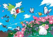Shaymin and his other form