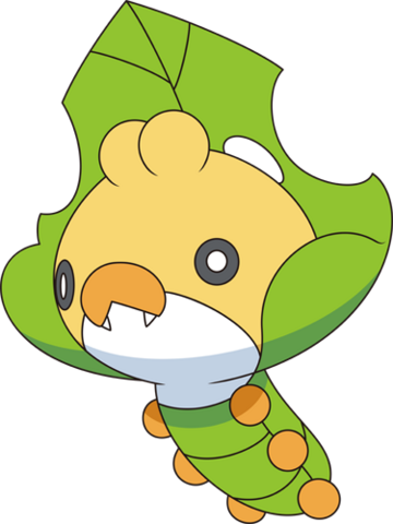 File:540Sewaddle BW anime.png