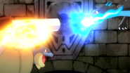 Siebold Mega Blastoise Power-Up Punch