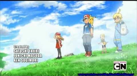 Pokemon XY Official English Dub Theme Opening