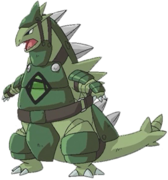 Green Army Tyranitar