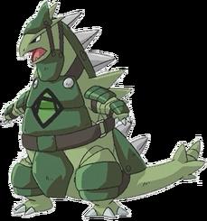 Green Army Tyranitar