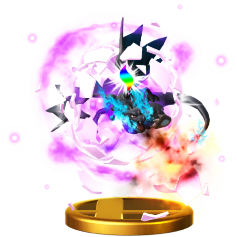 File:Mega Evolution (Charizard) trophy SSBWU.png