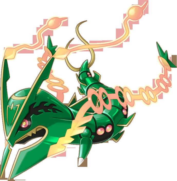 Image 384Mega Rayquaza Pokemon Rumble World