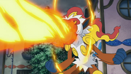 Allegra Infernape Flamethrower