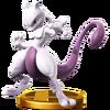 Mewtwo (fighter) trophy SSBWU