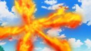 Serena Braixen Fire Blast