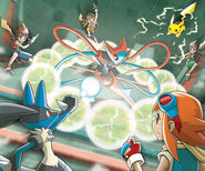 VS Deoxys Pokemon Ranger Guardian Signs