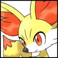 Generation VI Button - Fennekin