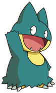 446Munchlax DP anime 5