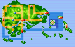 Sootopolis City Map