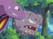 Weezing and Arbok leaving Jessie and James forever