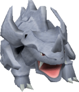 111Rhyhorn Pokemon Stadium