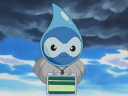 Bart Castform Rainy