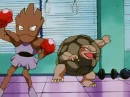 Rudy's Hitmonchan and Golem