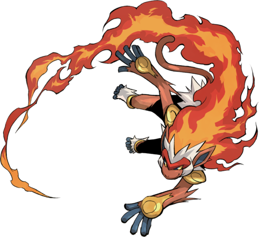 File:392Infernape Pokemon Conquest.png
