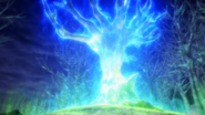 Xerneas turning into tree form