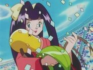 Jeanette carrying Bellsprout