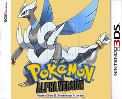Pokémon Alpha Version Boxart