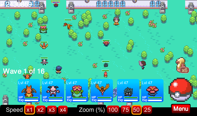 Celadon Gym (Challenge Level) | Pokemon Tower Defense Wiki ...