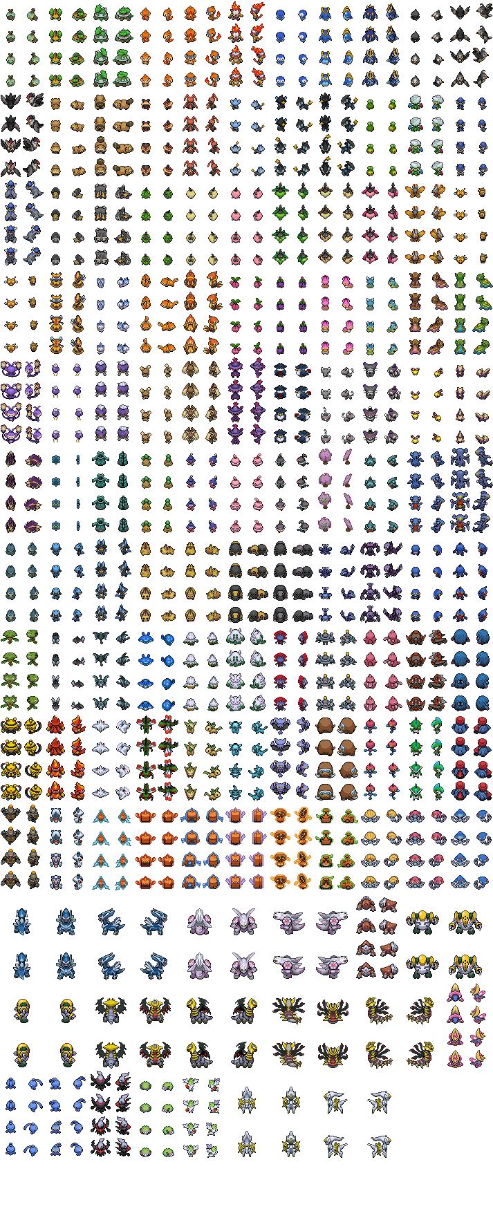Image 4th Gen Pkmn Over World Sprite By Thegamemaster27