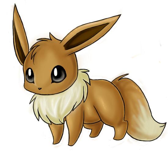Ficha Pokemon Eevee de Kaiser 1422850-eevee