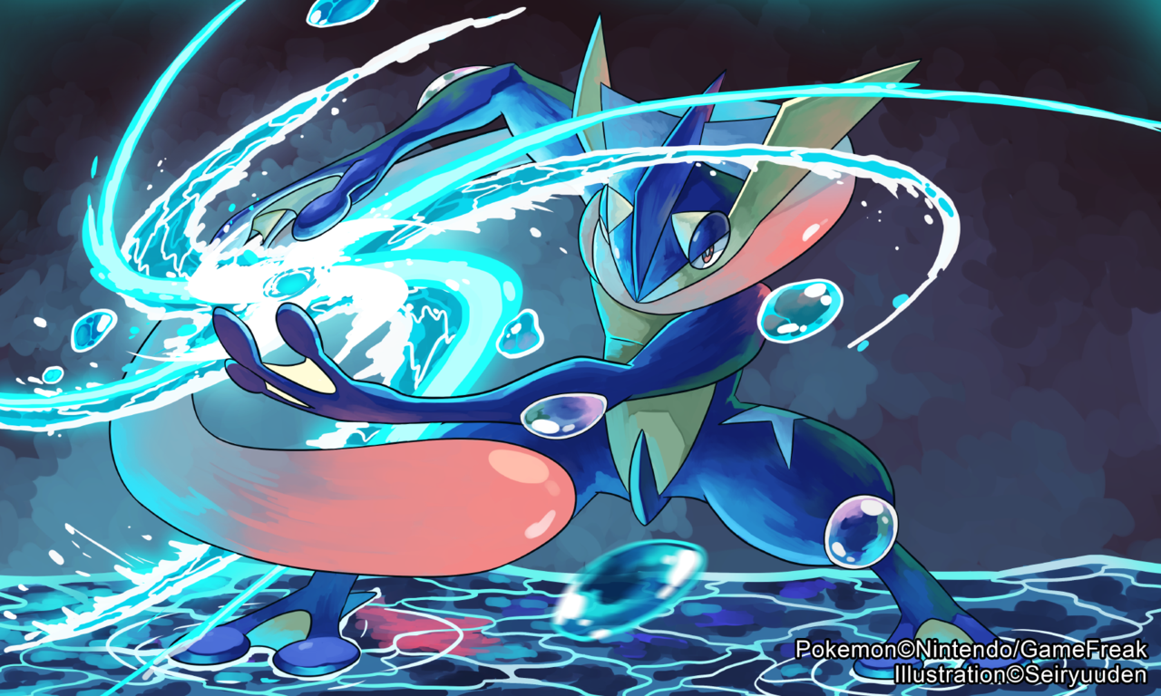 Greninja : Pokemon Tower Defense Two Wiki : Fandom powered by Wikia