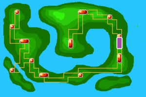 Map Route 5X