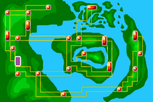 Map Psychic Temple